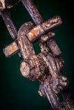 Jumelle rouillée Photo stock