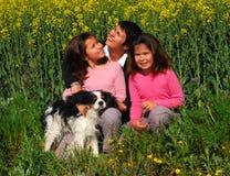 Jumelles de mère et de soeurs Photo stock