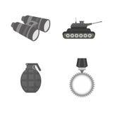 Jumelles militaires conception, illustration de vecteur Images libres de droits