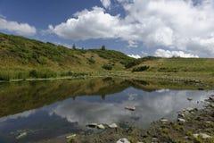 Jument de Taul, montagnes d'Apuseni, Roumanie Images libres de droits