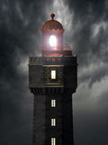 Jument lighthouse Royalty Free Stock Photo