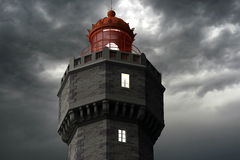 Jument lighthouse 2 Stock Images