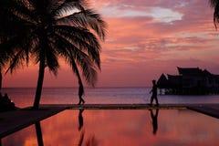 Jumerirah Vittaveli Island Resort, Maldives Royalty Free Stock Photography