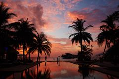 Jumerirah Vittaveli Island Resort, Maldives Stock Image