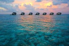 Jumerirah Vittaveli Island Resort, Maldives Royalty Free Stock Photos
