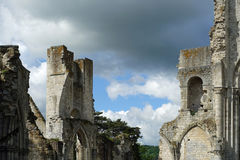 Jumieges Abbey royalty free stock photos
