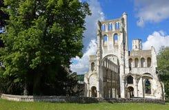 Jumieges abbotskloster Royaltyfri Bild