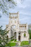 Jumieges-Abtei, ruiniertes Benediktinerkloster in Normandie, Frankreich Stockbild