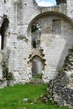 Jumieges, Francia - 22 de junio de 2016: Abadía del Saint Pierre Fotografía de archivo