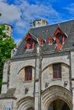 Jumieges, Francia - 22 de junio de 2016: Abadía del Saint Pierre Fotos de archivo