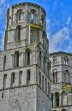 Jumieges, Francia - 22 de junio de 2016: Abadía del Saint Pierre Imagenes de archivo