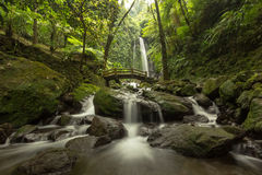 Jumog Waterfall. Location : Jumog Waterfall, karanganyar, central java, indonesia, southeast asia Stock Images