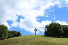 Jumonville Cross Royalty Free Stock Image
