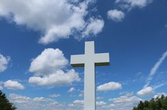 Jumonville Cross Stock Photography
