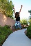JUMP!! Stock Photo