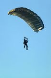 Jump. Parachute jump Royalty Free Stock Photography