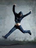 Jump. Stock Image