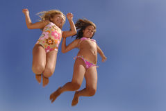 The Jump Stock Photography