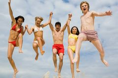 In jump Stock Photos