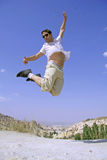 Jump air Royalty Free Stock Photos
