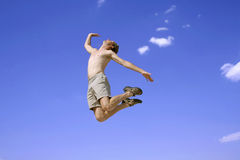 Jump air Royalty Free Stock Images