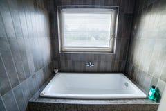 Jump into the bath Stock Photography