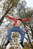 Jump boy Stock Photography