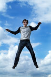 Jump boy Stock Images
