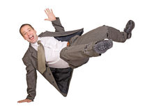 Jump businessman Royalty Free Stock Image