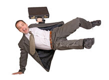 Jump businessman Stock Photo