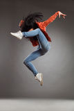 The jump Royalty Free Stock Images