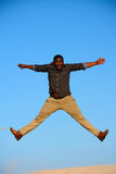 Jump For Joy Royalty Free Stock Images