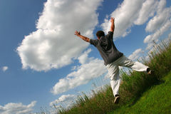 Free Jump For Joy Stock Images - 421054