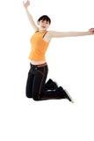 Jump girl Royalty Free Stock Photos