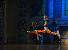 """Jump height- ballet """"One Thousand and One Nights"""" Royalty Free Stock Photography"""