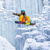 Jump of the icefall