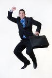 Jump for joy Stock Photography