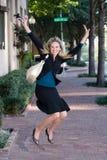 Jump For Joy! Royalty Free Stock Photo