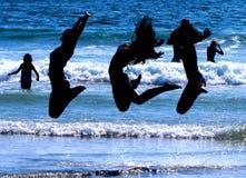 Jump, Jump, Jump for Joy! Royalty Free Stock Images