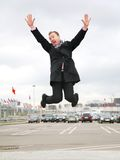 Jump man Stock Photos