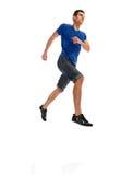 Jump man runner Royalty Free Stock Image