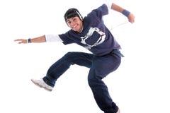 jump man young Στοκ φωτογραφία με δικαίωμα ελεύθερης χρήσης