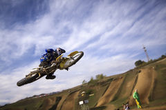 JUMP MOTOCROSS-8-МХ1 Stock Photo