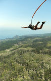 Jump off the cliff. Royalty Free Stock Images
