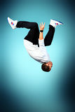 Jump over head Royalty Free Stock Images
