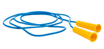 Jump rope. Isolated on a white background Stock Photography