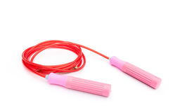 Jump Rope, skipping rope. On white background Royalty Free Stock Photos