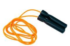 Jump rope for sports Royalty Free Stock Photos