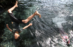 Jump Salto Stock Photography