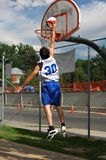 Jump Shot Royalty Free Stock Photo